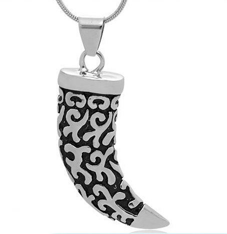 Wolf Fang Pendant Stainless Steel Jewelry