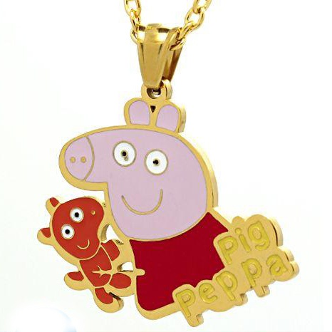 Pig Pendant Stainless Steel Jewelry