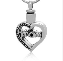 MOM Stainless Steel Cremation Pendant