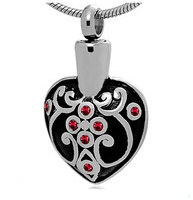 Heart Stainless Steel Cremation Pendant