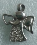 Angel Stainless Steel Cremation Pendant