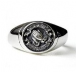 Stainless Steel Urn Cremation Ring Memorial Jewelry