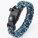 Paracord Survival Bracelet outdoor bracelet with compass