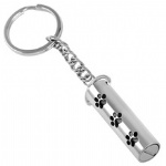 Stainless Steel Urn Cremation Key Chains Memorial Jewelry