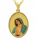 Blessed Virgin Mary Pendant Stainless steel Jewelry