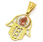 Hamsa Pendant Stainless Steel Jewelry