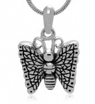 Stainless Steel Cremation Butterfly Pendant