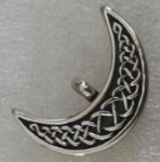 Moon Stainless Steel Cremation Pendant