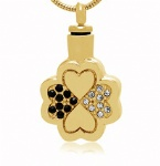 CLOVER Stainless Steel Cremation Pendant